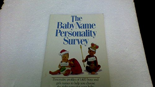 9780881661651: The Baby Name Personality Survey