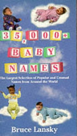 9780881662160: 35, 000+ Baby Names: Largest Selection of Popular and Unusual Names from Around the World
