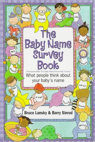 9780881663112: The Baby Name Survey Book: What People Think About Your Baby's Name