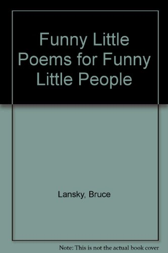 9780881664263: Funny Little Poems for Funny Little People