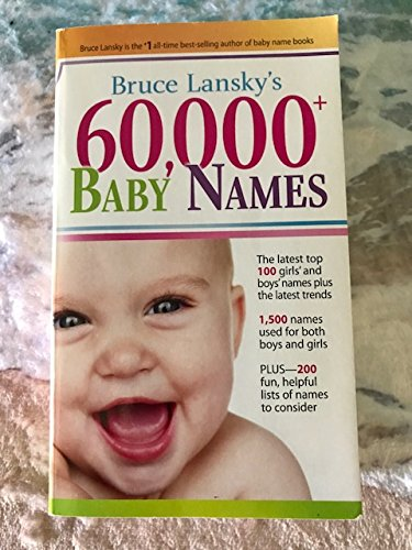 9780881665192: 60, 000+ Baby Names