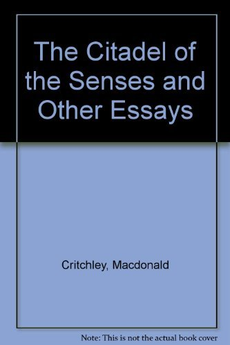 9780881671056: The Citadel of the Senses and Other Essays