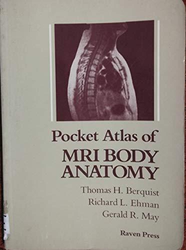 9780881672824: 001: Pocket Atlas of Mri Body Anatomy
