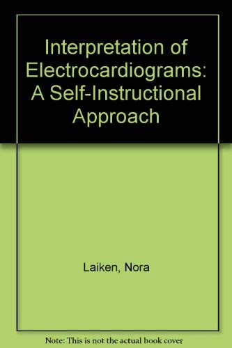 9780881673883: Interpretation of Electrocardiograms: A Self-Instructional Approach