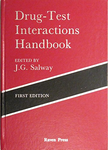 9780881676020: Drug-Test Interactions Handbook
