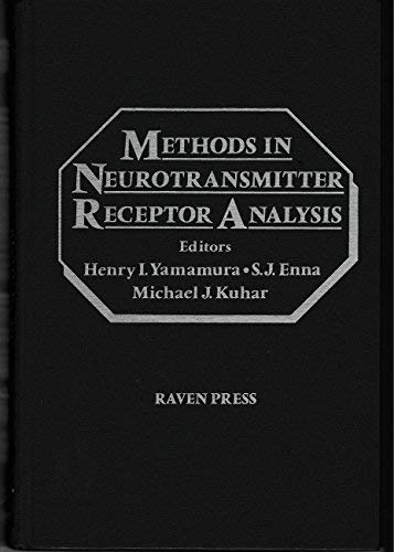 9780881676099: Methods in Neurotransmitter Receptor Analysis