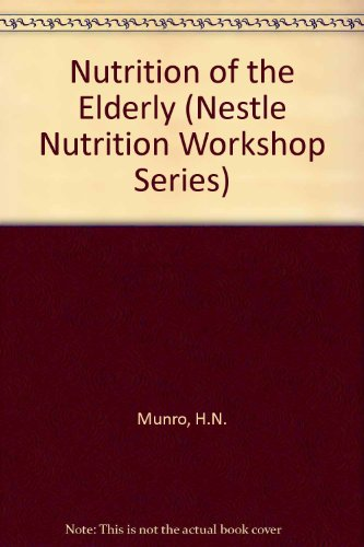 9780881678741: Nutrition of the Elderly