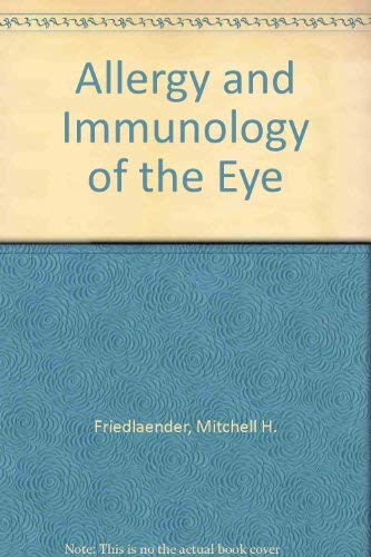 9780881679298: Allergy and Immunology of the Eye