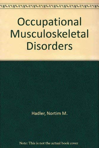 9780881679595: Occupational Musculoskeletal Disorders