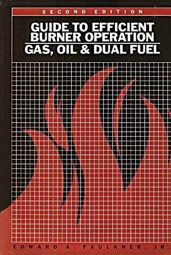 9780881730166: Guide to efficient burner operation: Gas, oil, and dual fuel