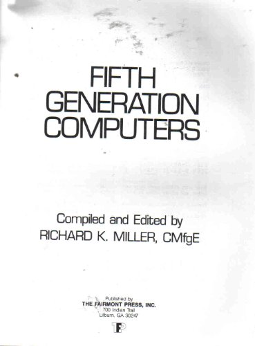 9780881730500: Fifth generation computers