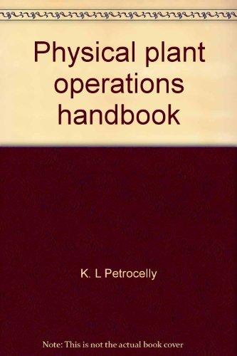 9780881730548: Physical plant operations handbook