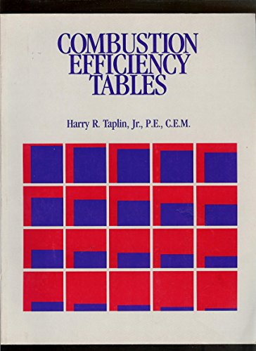 9780881731439: Combustion efficiency tables