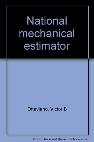 9780881731514: National mechanical estimator