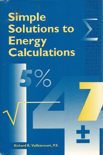 9780881731811: Simple solutions to energy calculations