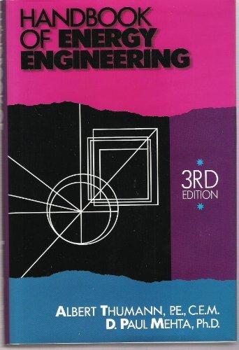 Handbook of Energy Engineering: Thumann, Albert; Mehta,