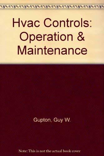 9780881732214: Hvac Controls: Operation & Maintenance