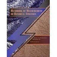 9780881732290: Handbook of Measurement of Residual Stresses