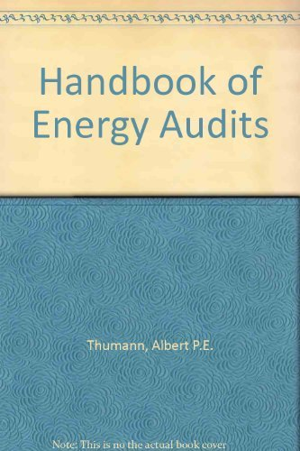 9780881732948: Handbook of Energy Audits