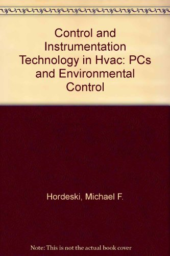 9780881733068: Control and Instrumentation Technology in Hvac: PCs and Environmental Control