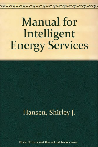 9780881733808: Manual for Intelligent Energy Services