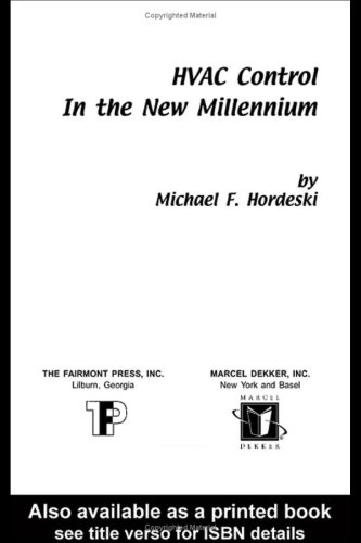 9780881733990: HVAC Control in the New Millennium