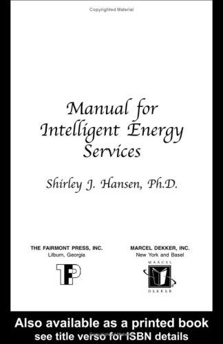 9780881734157: Manual for Intelligent Energy Services