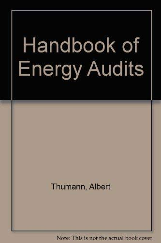 9780881734164: Handbook of Energy Audits