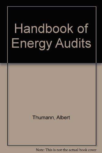 9780881734164: Handbook of Energy Audits