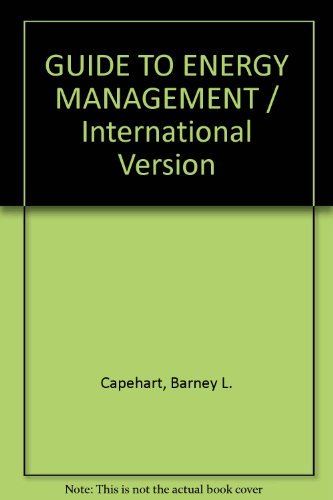9780881735642: GUIDE TO ENERGY MANAGEMENT / International Version