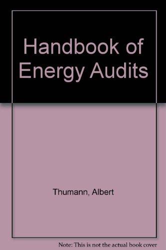 9780881736212: Handbook of Energy Audits