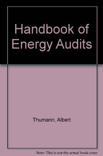 9780881736212: Handbook of Energy Audits