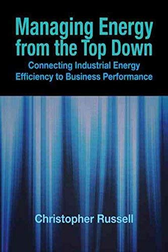 9780881736250: Managing Energy from the Top Down: Connecting Industrial Energy Efficiency to Business Performance