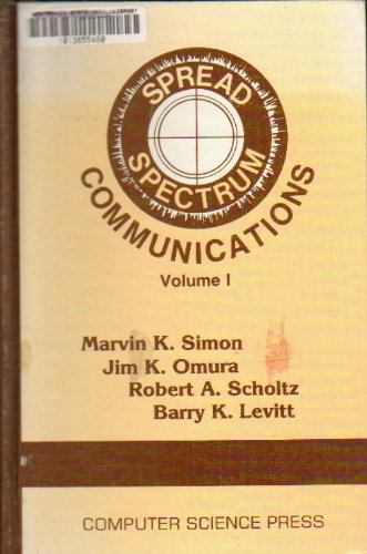 Spread Spectrum Communications: Volume 1