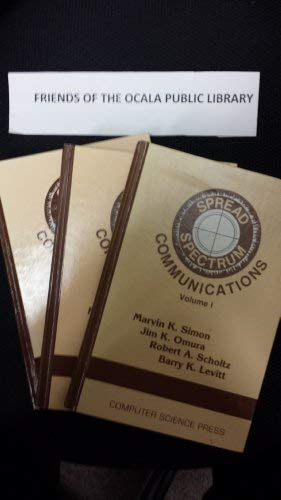 9780881750171: Spread Spectrum Communications Volumes 1,2,3 (Electrical Engineering Communications and Signal Processing)