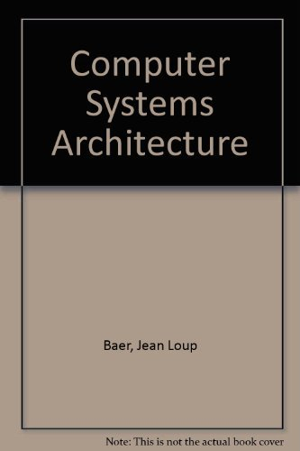 9780881751734: Computer Systems Architecture