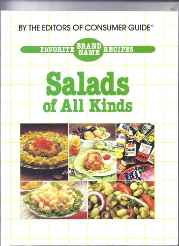 9780881762365: Favorite Brand Name Recipes: Salads of all Kinds