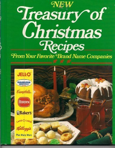 New Treasury Of Christmas Recipes: Unknown