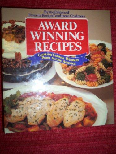 9780881766554: Award Winning Recipes