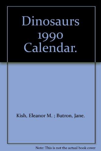 1990 Calendar.9780881767797 Dinosaurs 1990 Calendar Abebooks Eleanor M