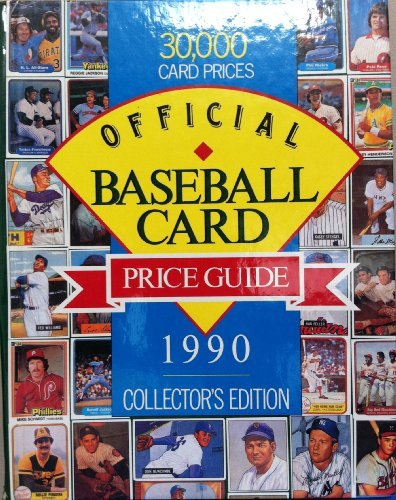 Official baseball card price guide: Robert Lemke; H.R. Ted Taylor; Photographer-Sam Griffith Studio...