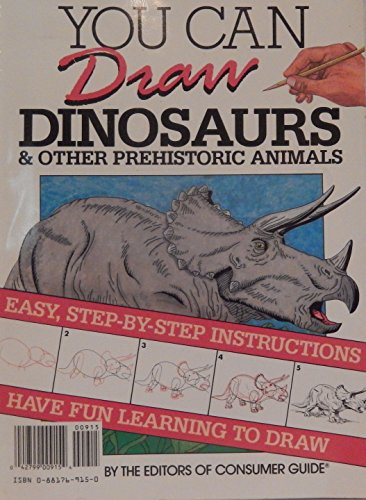 9780881769159: You Can Draw Dinosaurs & Other Prehistoric Animals