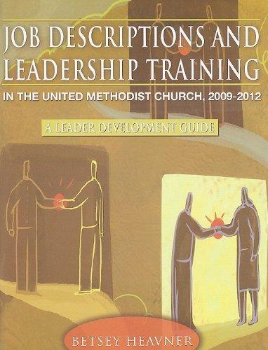 Job Descriptions and Leadership Training: Betsey Heavner