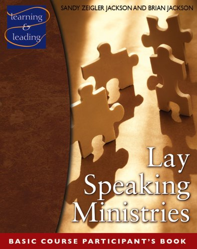 9780881775525: Lay Speaking Ministries, Participant's Book: Basic Course (Learning & Leading)