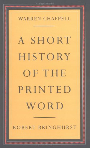9780881791549: A Short History of the Printed Word
