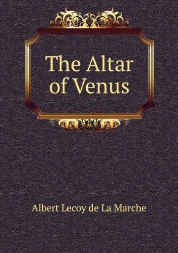 9780881840018: Altar of Venus