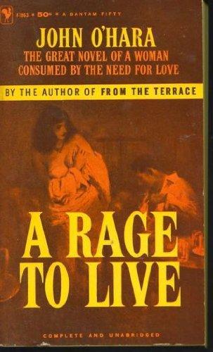 A Rage to Live: O'Hara, John