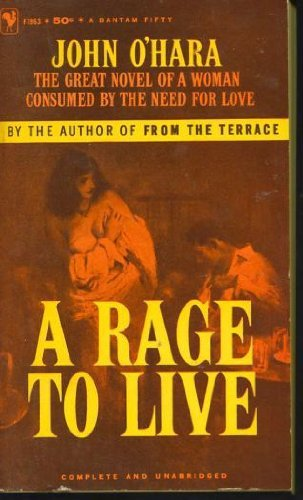 9780881842166: A Rage to Live
