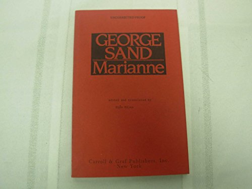 Marianne (English and French Edition): George Sand