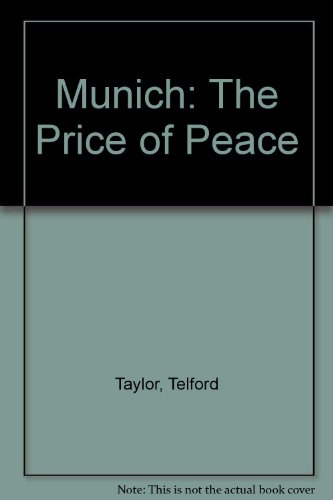 9780881844474: Munich: The Price of Peace